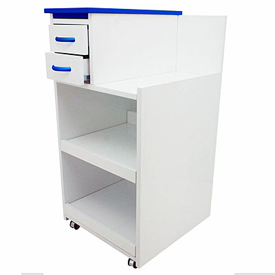 Surgical Utility Cabinet Cart With Multi-Functional Drawers & Wheels